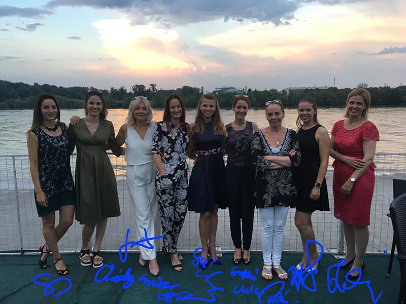 Végzett diák és tanári csoportképek, 2020. július